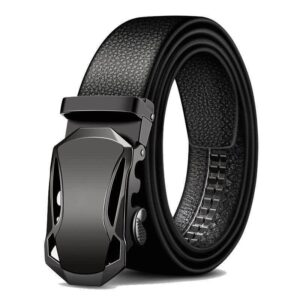 Metal Automatic Buckle Brand High Quality Leather Belts