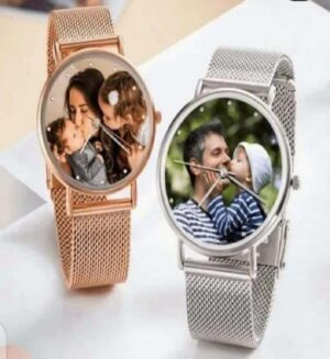 Customized Photo Magnetic Watch
