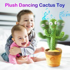 Talking Repeating Cactus Toy Talk & Repeat
