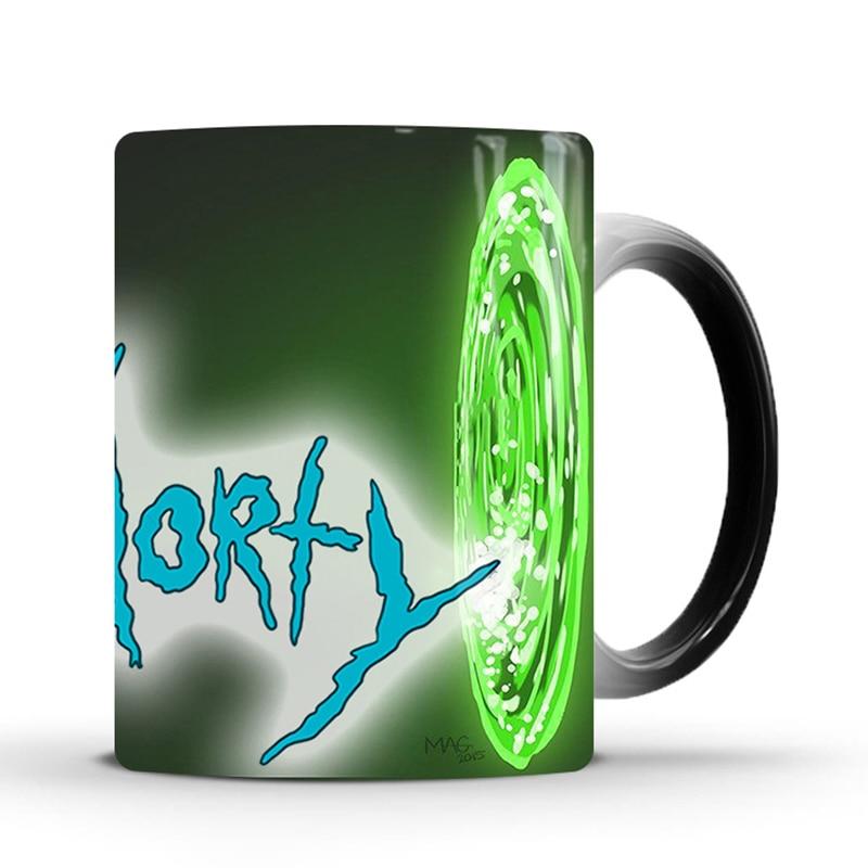 Heat Sensitive Color Changing Mug