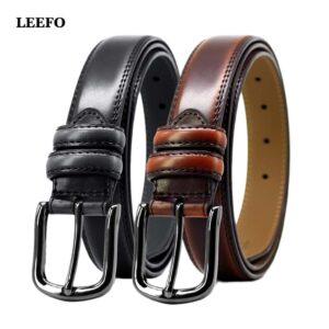 Brown Black Belt For Men