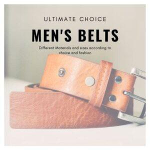 Mens Luxury Belts